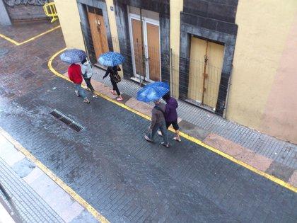 El Gobierno de Canarias declara la situación de alerta por lluvias en La Palma