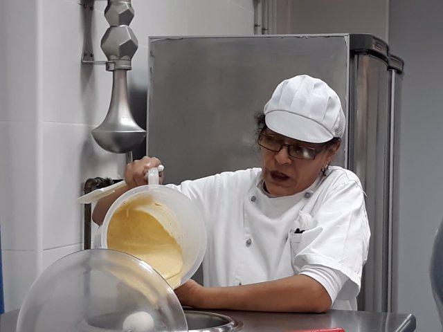 Jóvenes iberiamericanos curso heladería