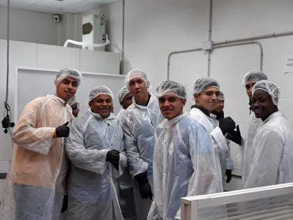 """Jóvenes iberoamericanos se preparan para """"triunfar"""" entre los fogones de restaurantes españoles"""