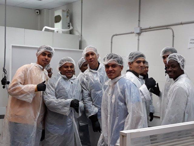 Jóvenes iberoamericanos curso de heladería