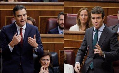 Sánchez retreu a Casado que sigui més radical i menys seriós que Rajoy per trencar el pacte per renovar el CGPJ (Europa Press)