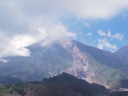La erupción del volcán de Fuego no afectada al turismo en Guatemala