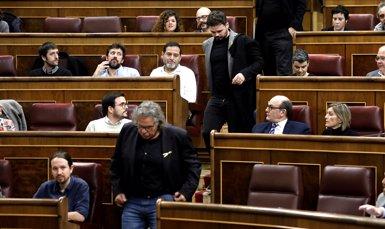 Ana Pastor expulsa Rufián del ple del Congrés i esbronca els diputats pel clima de crispació (Marta Fernández Jara - Europa Press)