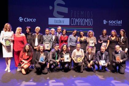 Clece premia a Fundación Santa María La Real, AXEL y Fundación Don Bosco por su compromiso con la violencia de género