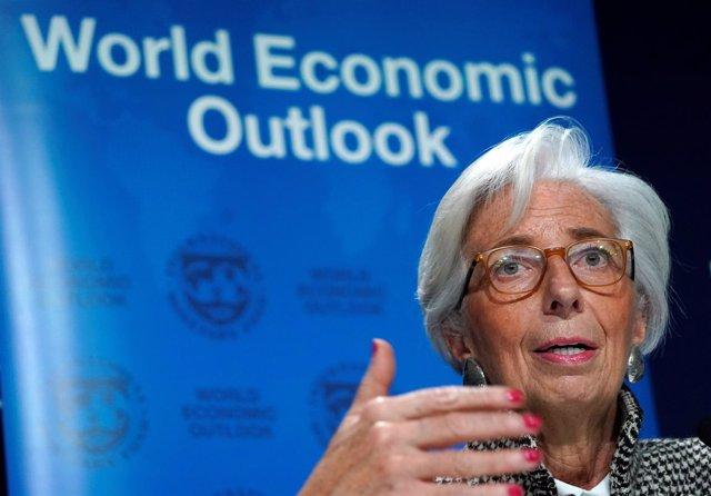 La directora del FMI Christine Lagarde
