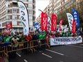 La cumbre hispano portuguesa en Valladolid comienza con una sonora protesta de funcionarios de prisiones
