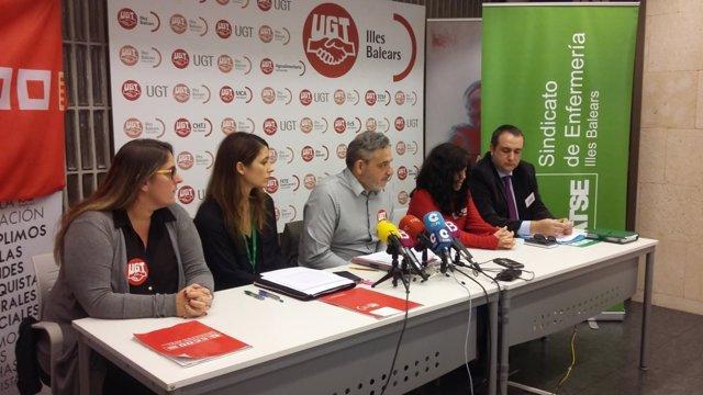 Sindicatos con representación mesa negociación ERE Grupo Juaneda