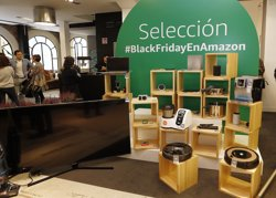 Amazon obre la seva primera botiga 'pop up' a Madrid i contracta pel Black Friday i Nadal 2.200 treballadors tempora (AMAZON)