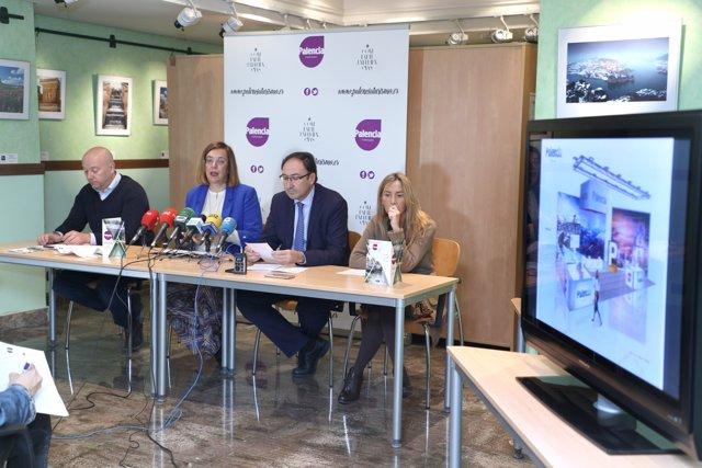Presentación de la oferta de Palencia para INTUR.