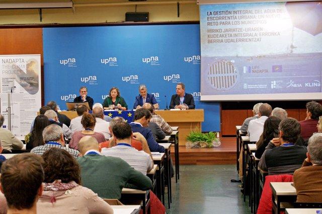 Jornadas 'La gestión integral del agua de escorrentía urbana'