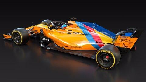 McLaren de Fernando Alonso per a la seva última carrera de F1