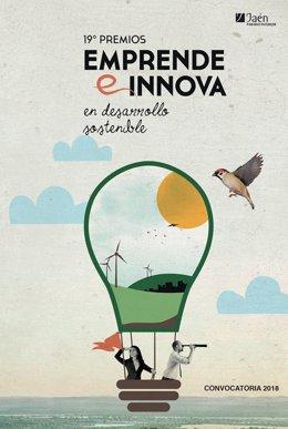 Cartel de los premios Emprende e Innova en Desarrollo Sostenible