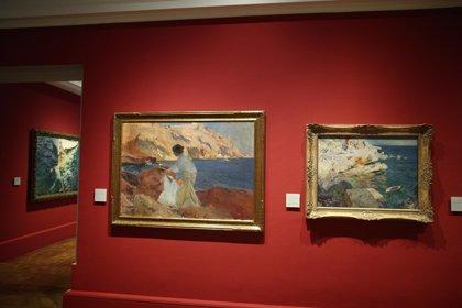 Sotheby's expone en Madrid cuatro Sorolla, dos Joaquín Mir y un Rusiñol que subastará en diciembre en Londres