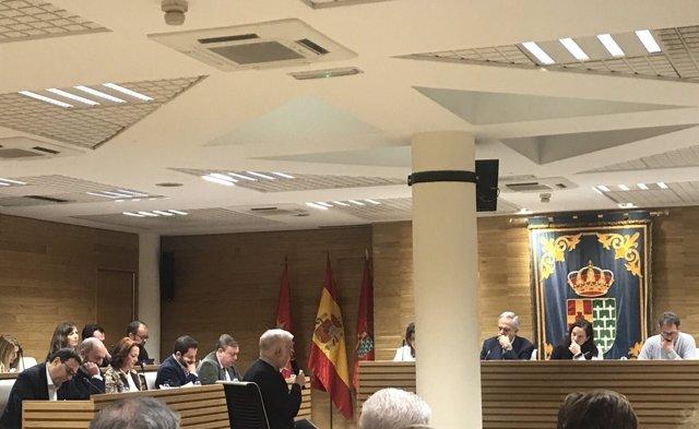 Pleno del Ayuntamiento de Getafe