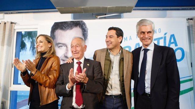 El presidente del PP-A y candidato a la Presidencia del PP-A, Juanma Moreno