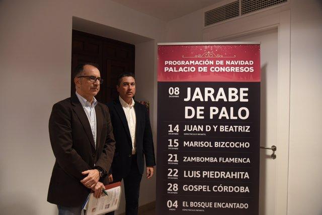Presentación de la programación navideña del Palacio de Congresos