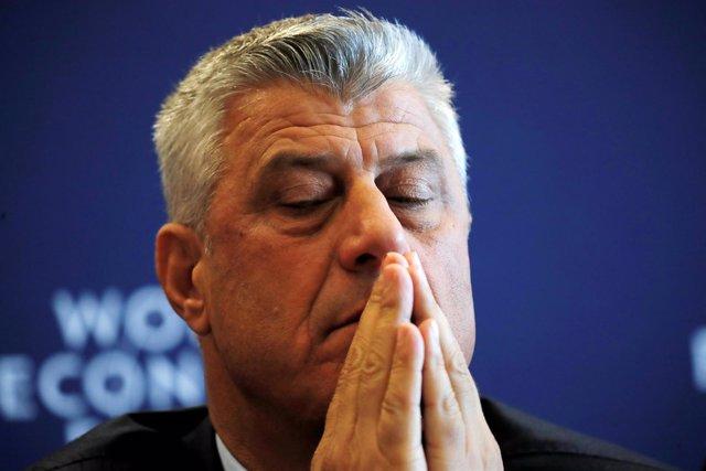 El presidente de Kosovo, Hashim Thaci
