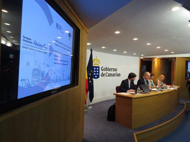 El BEI presenta un informe para canalizar el Plan Juncker en las RUP