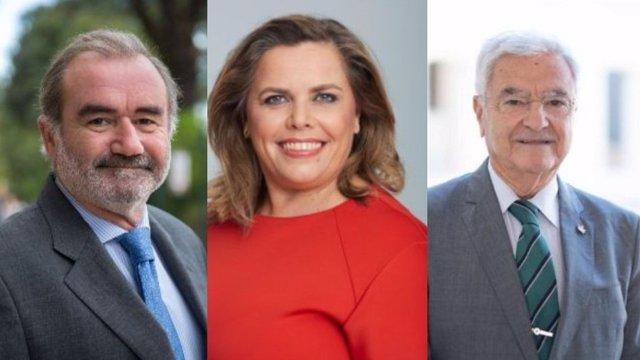 Óscar Cisneros, Silvia Muñoz y Francisco Baena, candidatos a decano