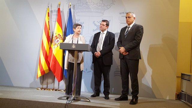 Teresa Cunillera, Quim Ferrer y Pere Padrosa