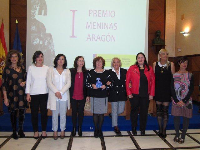 Sánchez y Broto, esta tarde junto a algunas de las directoras del IAM