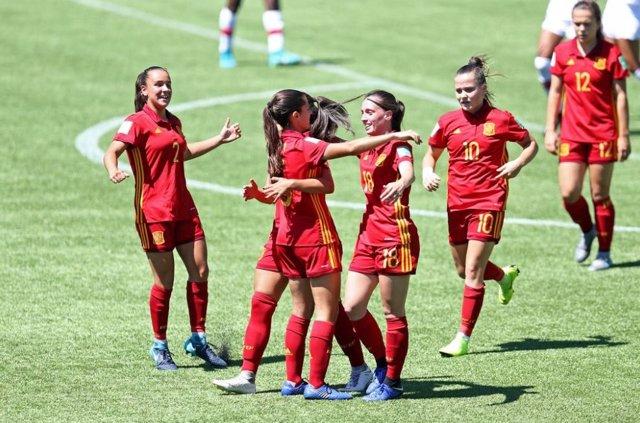 paquete elegante y resistente fecha de lanzamiento clásico La selección española femenina Sub-17, a cuartos del Mundial de Uruguay