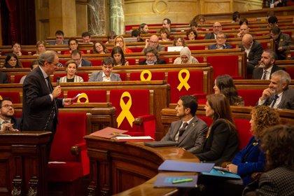 """Quim Torra pide a Roger Torrent que no permita """"insultos"""" en el pleno del Parlament"""
