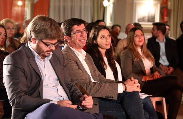 Portavoz de Cs en Andalucía y candidato a la Presidencia de la Junta, Juan Marín