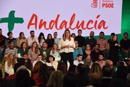 """Susana Díaz expresa su apoyo a Borrell y dice que el """"odio"""" no tiene sitio en la democracia: """"Ya está bien de crispar"""""""