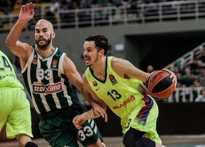 El Panathinaikos de Pascual corta la racha triunfal del Barça