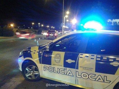 Policía Local de Sevilla busca a dos personas que provocaron incidentes en la manifestación de taxistas