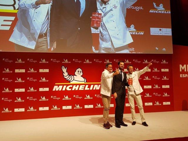 Sergio y Javier Torres reciben estrellas Michelin