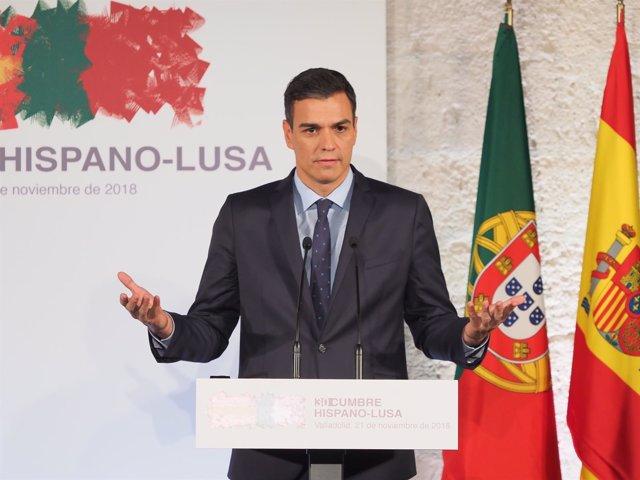 Pedro Sánchez y el primer ministro de Portugal, António Costa, presiden la Cumbr