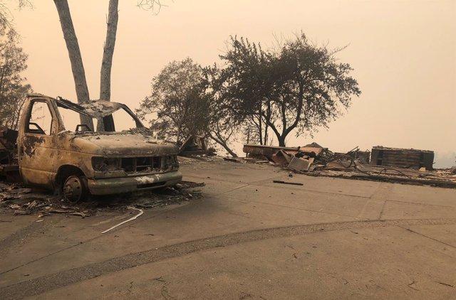 Incendios en el estado de California, Estados Unidos