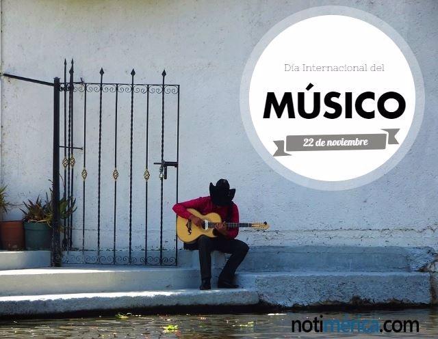 por qué se celebra el 22 de noviembre el día internacional del músico