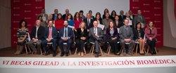 Vuit centres catalans, guanyadors en la VI edició de les Beques Gilead a la Investigació Biomèdica (GILEAD)