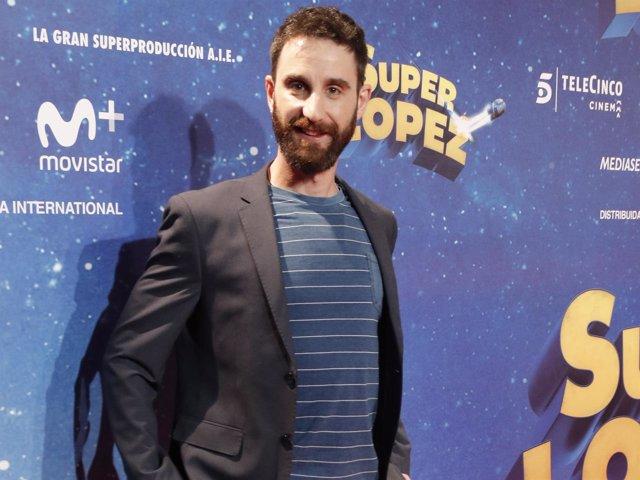 Dani Rovira estreno 'Súper López'