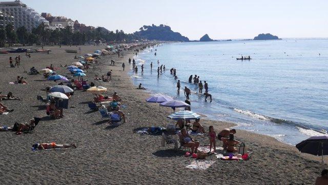 Playa de Almuñécar (Granada)