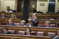 El PDeCAT dona per fet que el diputat d'ERC no va escopir a Borrell i exigeix al ministre que es disculpi (Marta Fernández Jara - Europa Press)