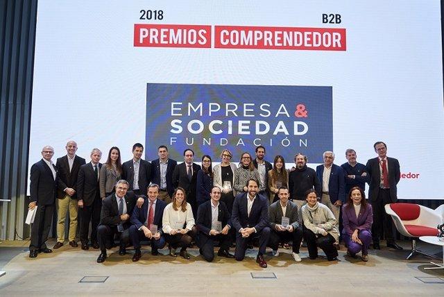 Acto De Entrega De Los Premios Comprendedor 2018