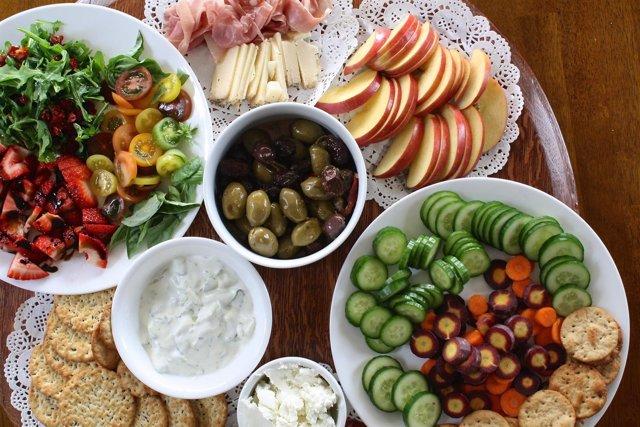 Alimentación sana, saludable, alimentos sanos