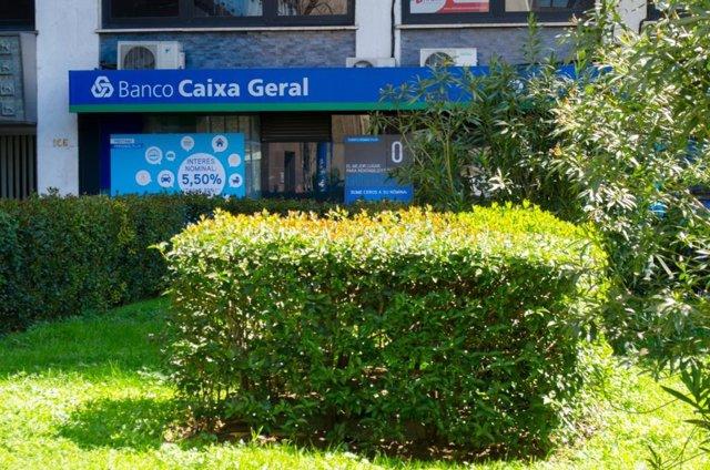 Sucursal, banco Caixa Geral