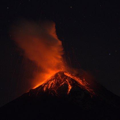 El Volcán de Fuego de Guatemala incrementa su actividad