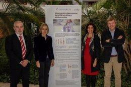 Simposio Novartis sobre esclerosis múltiple pediátrica en la reunión de la SEN