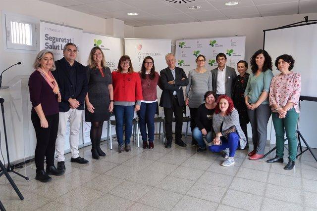 Presentación del proyectode investigacióno 'Cambreres de pis i salut