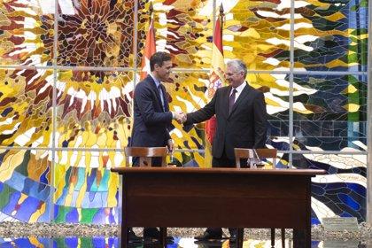 """Sánchez impulsará inversiones en Cuba y pondrá la relación económica """"a la altura de los vínculos históricos"""""""