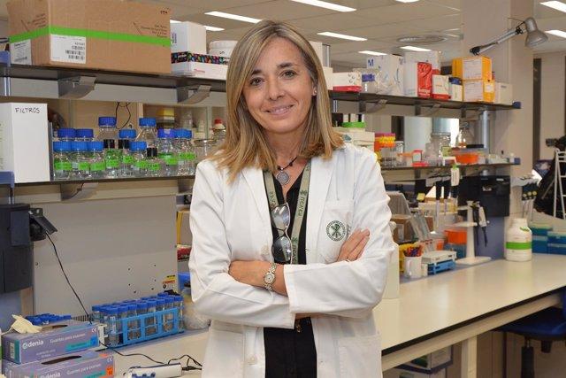 Elisa Oltra, investigadora de la Católica de Valencia