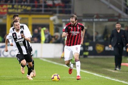 Higuaín no ve reducida la sanción de dos partidos tras su expulsión ante la Juventus