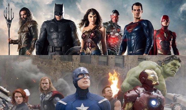Vengadores y Liga de la Justicia