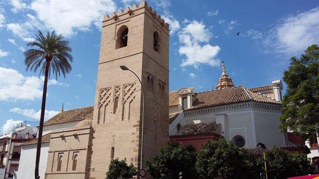 Exterior de la iglesia de Santa Catalina tras la finalización de la segunda fase